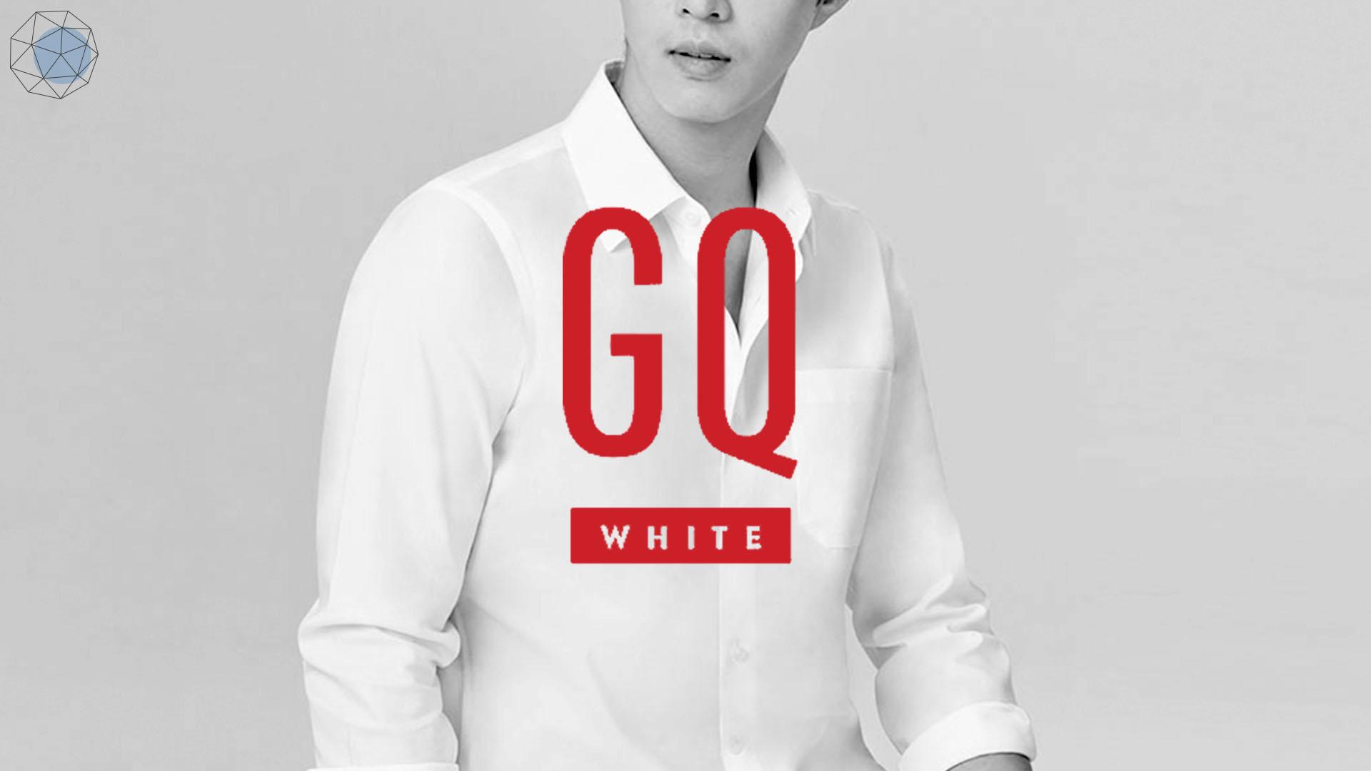 เสื้อเชิ้ตสีขาวของ GQ