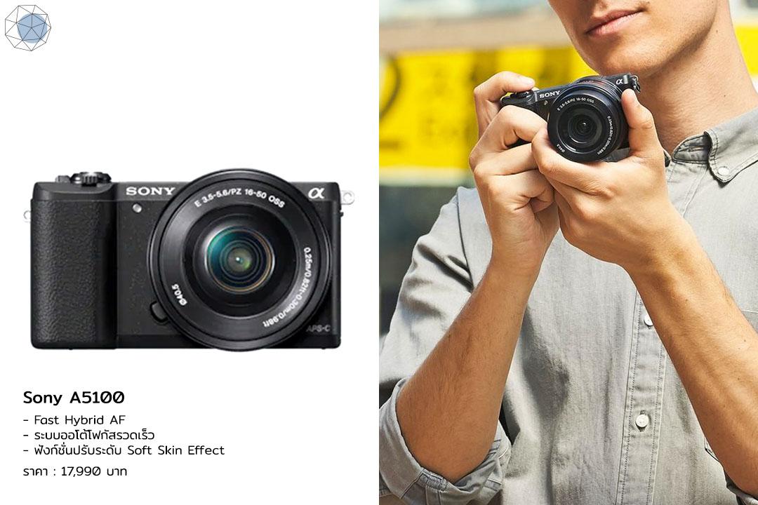 กล้อง Mirrorless - Sony A5100