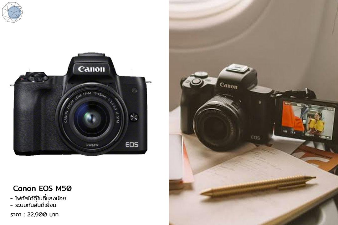 กล้อง Mirrorless - Canon EOS M50