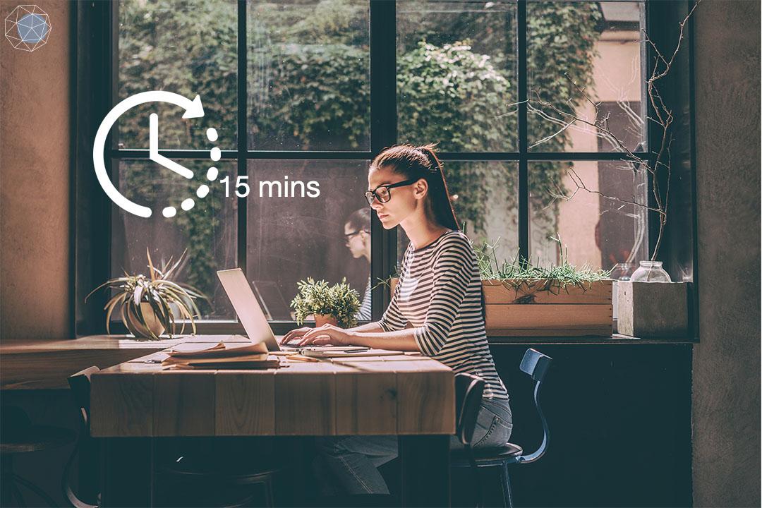 อยากทำงานให้เร็ว ใช้กฎ 15 นาที