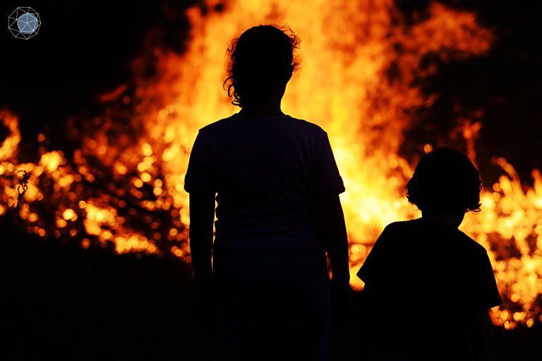 ไฟไหม้ป่าออสเตรเลียมาจากมนุษย์