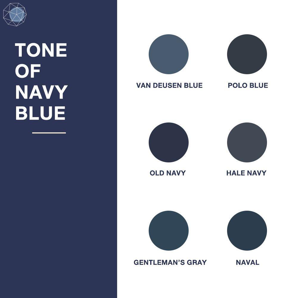 Tone of Navy Blue
