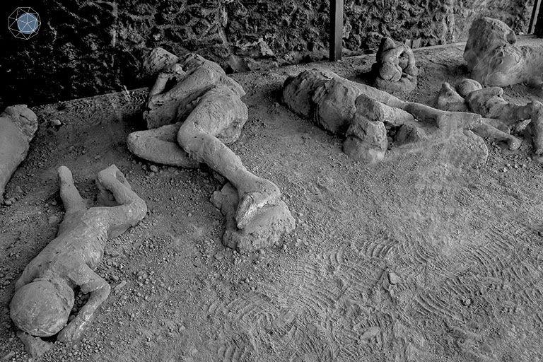 ค้นพบร่างไร้วิญญาณของชาวปอมเปอี