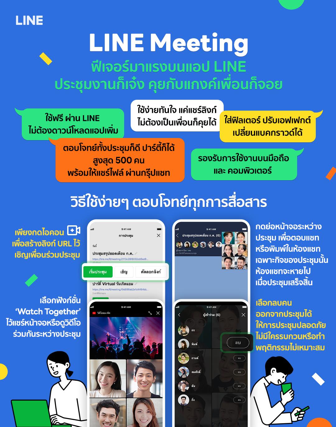 LINE Meeting