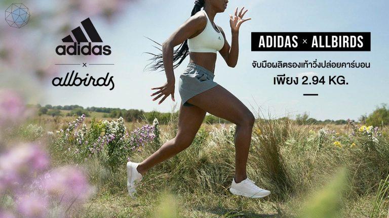 Adidas x Allbirds