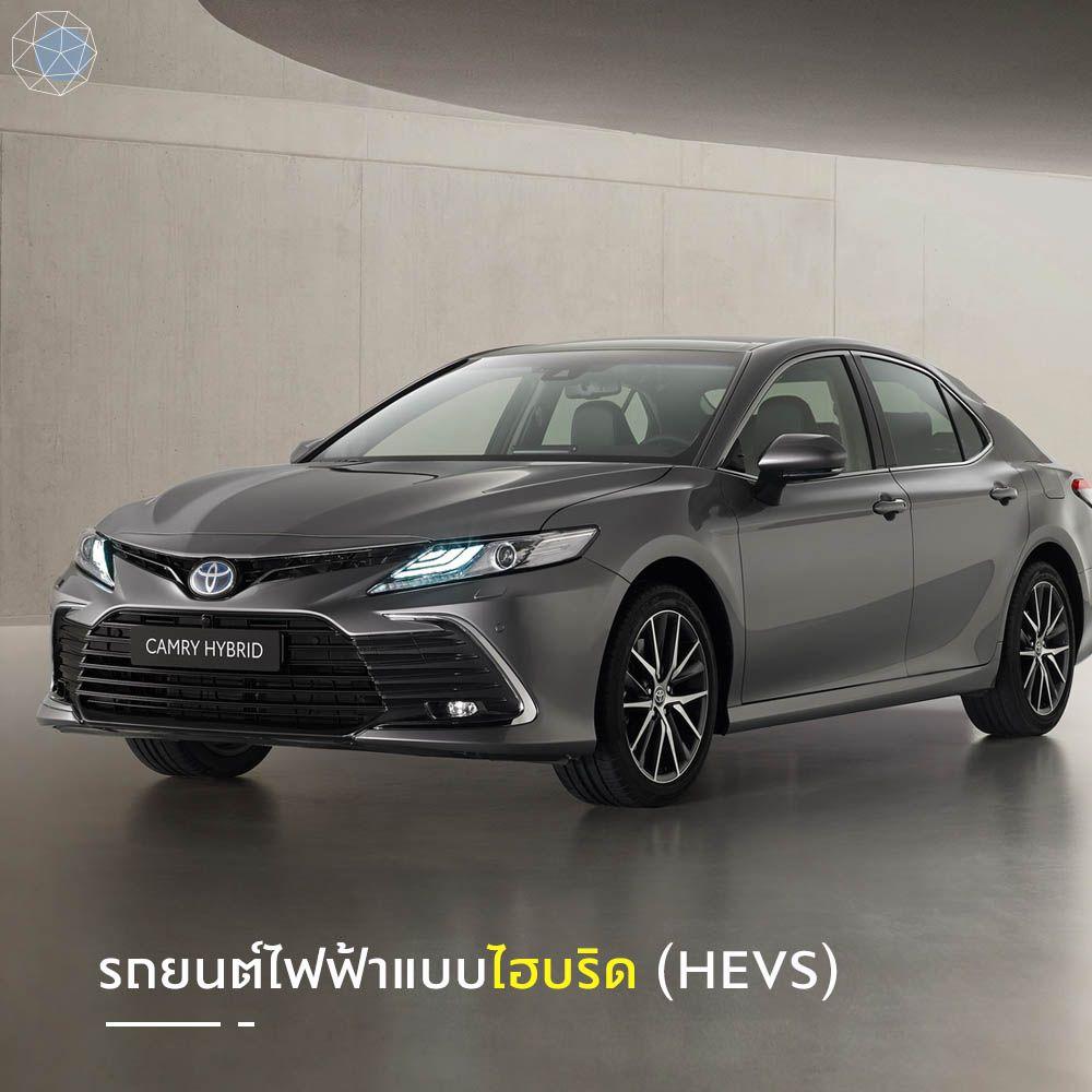 รถยนต์ไฟฟ้าแบบไฮบริด (Hybrid Electric Vehicle, HEVs)