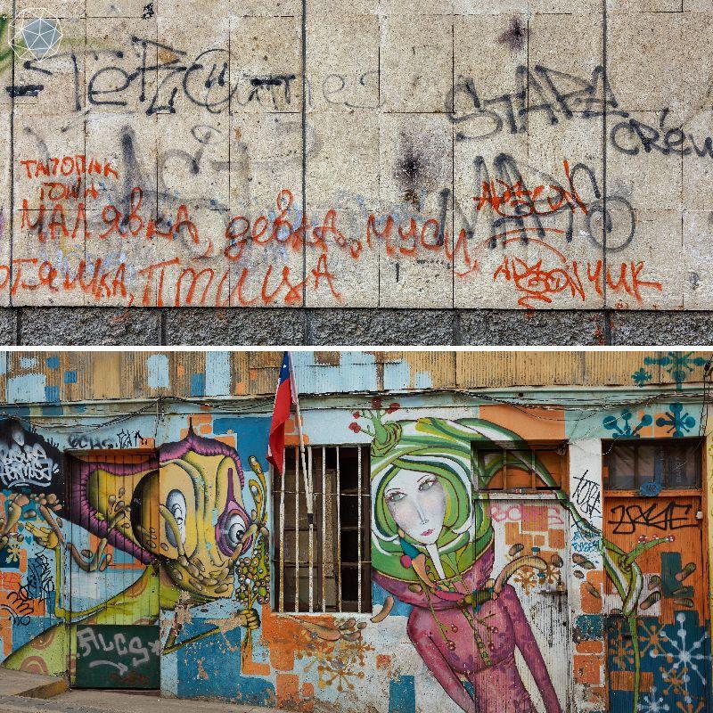กราฟฟิตี้ Graffiti คือ