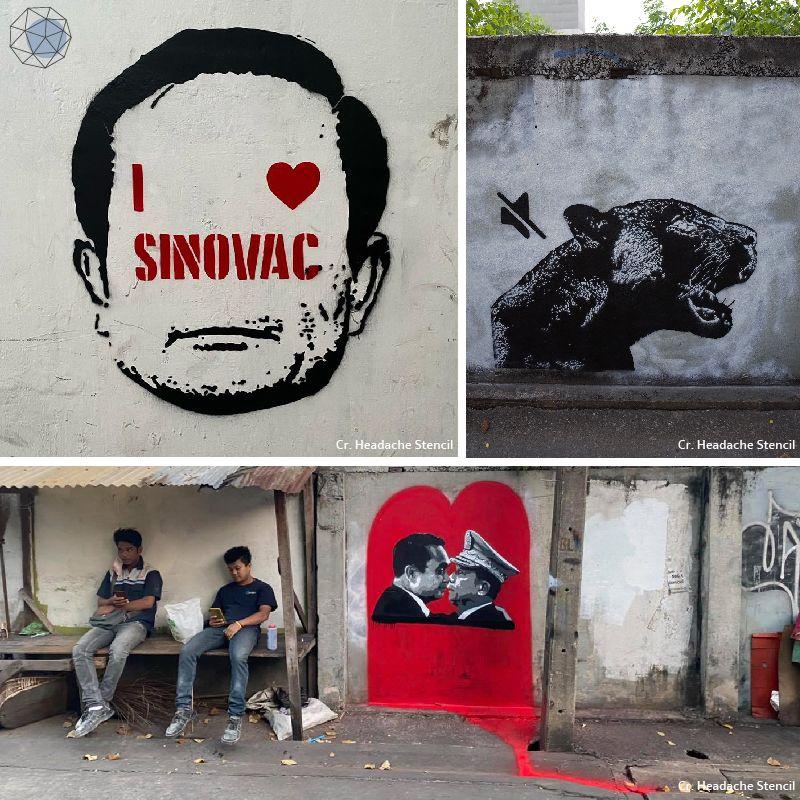 Graffiti by Headache Stencil