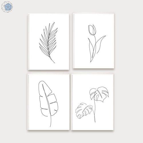 Tree Line Drawing